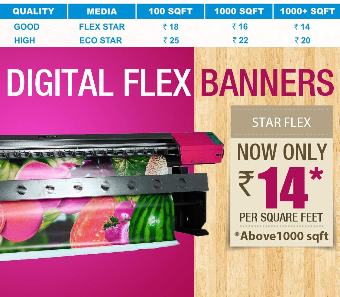 Exhibition Stand Eco : Digital printing services in chennai flex